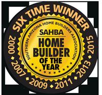 SAHBA Home Builder Of The Year Award