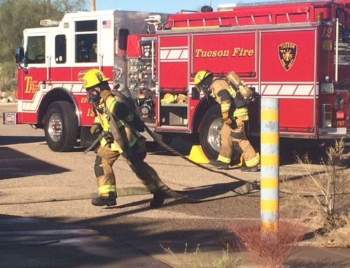 Tucson firefighters get new lessons in old school building