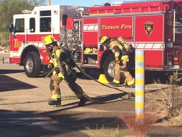 Tucson firefighters get new lessons in old school building for Arizona motor vehicle division tucson az 85713