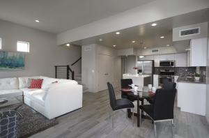 New Homes central Tucson Park Modern #5 Great Room 1