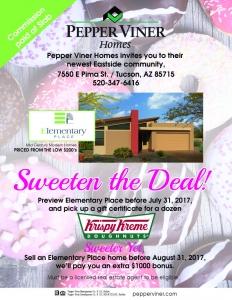 Sweeten the Deal